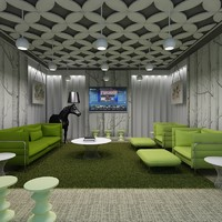 Office Lounge Interior  05