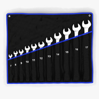 max set wrenches soft case