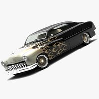 1951 lowrider choptop 3d model