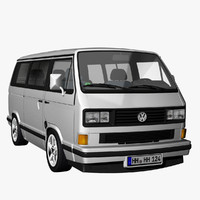 3d t3 caravelle gti 1989 model