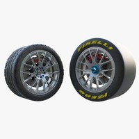 3d cars volk homura wheel