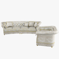 3d model sofa sharon armchair