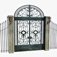 Ornamental Gate  1