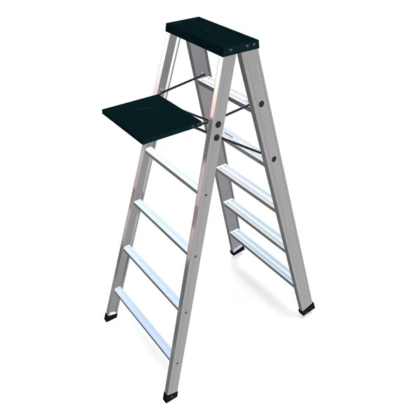 3d Ladders Step Model