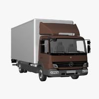 MB Atego S Box 4x2