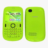 Nokia Asha 201 Green