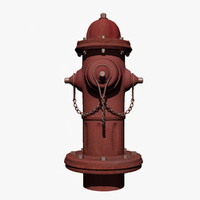 rusty hydrant 3d 3ds