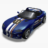 Dodge Viper RT10 Convertible (Rigged)