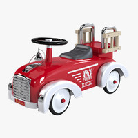3d speedster pompier toy car