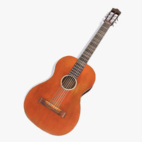 3ds max classic acoustic guitar