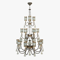 fine art lamps chandelier max