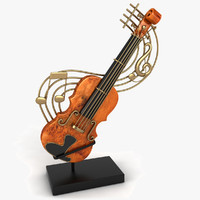 Violin Decoration