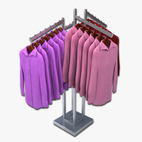 max women dress shirt rack