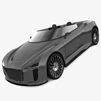 Audi E Tron Spyder 2011