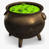 maya witch magic pot