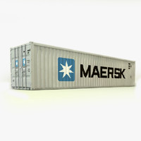 40 ft Container - Maersk