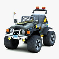 GAUCHO Super Power Toy Car