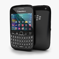 new blackberry curve 9220 3d model