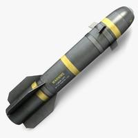 3d hellfire missile