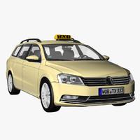 VW Passat Variant 2012 Taxi