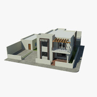 3d house dwell home model