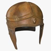 attic helmet 3d max