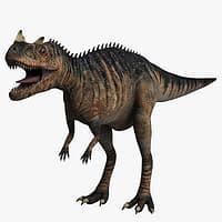 3d cheetah3d ceratosaurus
