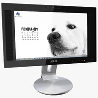 3d monitor asus lcd pw201