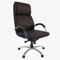 office armchair - nadir 3d max