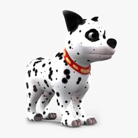 max cartoon dalmatian dog