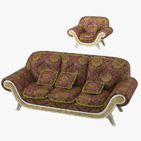 3d bisini adonis sofa arm chair