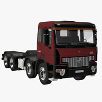 generic truck 8x4 3d lwo