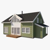 sans house siding 3d max