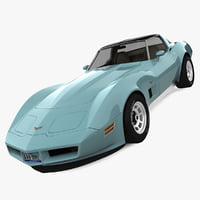 3ds chevrolet corvette c3