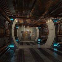spaceship corridor max
