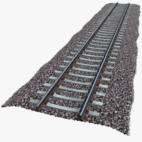 3d model gauge railway