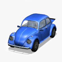volkswagen beetle bug 3d 3ds