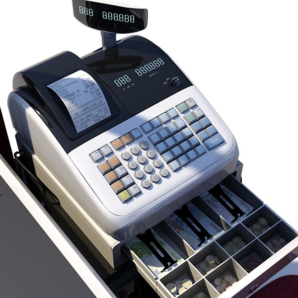 cash counter supermarket register max - Cash Counter... by FraP