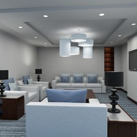Office Reception Lounge 4