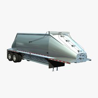 3d trailer beall 2 axle