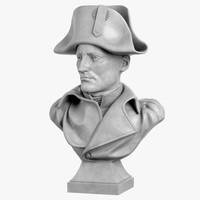 3dsmax decorative bust napoleon