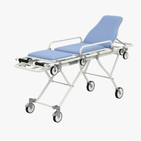 medical stretcher 3d 3ds