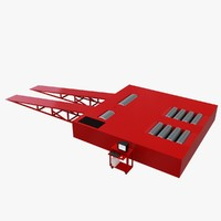 3d wheel chassis dyno model