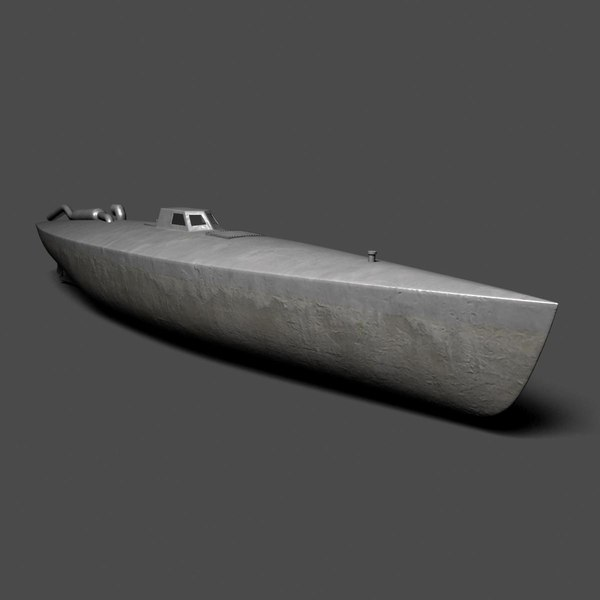 3ds max columbian drug cartel - Columbian Submarine... by vadikgg