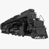 3985 challenger locomotive 3d max
