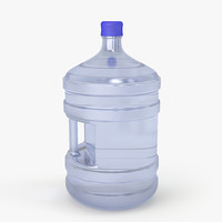 Plastic Bottle with Handle