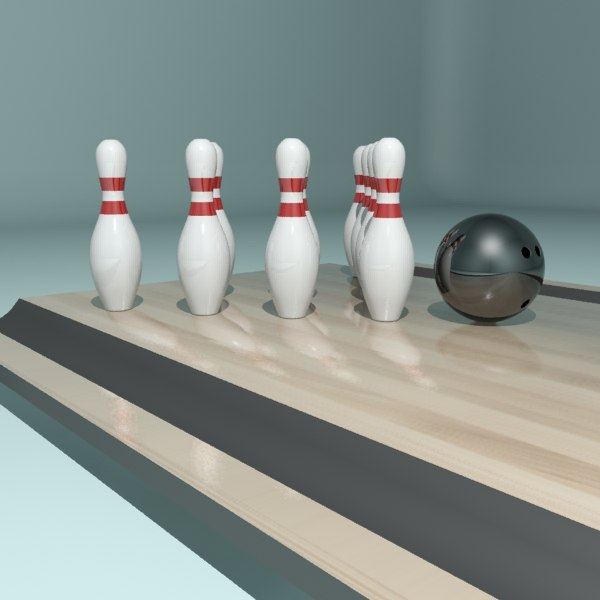 Bowling Ball & Pin I.jpg