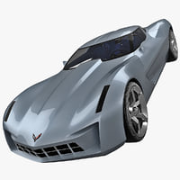 Corvette Stingray Concept Car