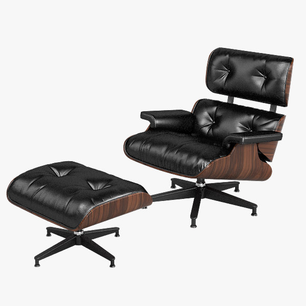 Eames Lounge chair 670 Herman Miller ottoman seating famous modern contemporary art deco leather designers news .jpg