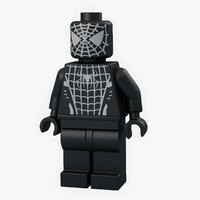 Lego Spider Man Black